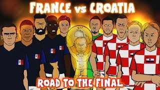 Download 🏆France vs Croatia: THE ROAD TO THE FINAL🏆 (World Cup 2018 Preview Montage) Video