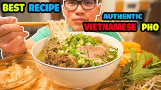 Download How to make an Authentic bowl of VIETNAMESE PHO Video
