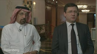 Download Al-Falih and Novak on OPEC Production Cuts, Oil Prices, Shale Video