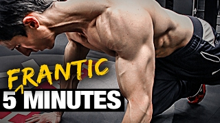 Download 5 Minute Home Fat Burning Workout (FRANTIC FAT LOSS!) Video