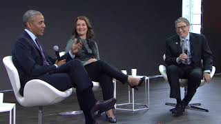 Download A Conversation with Barack Obama, Bill Gates and Melinda Gates #GOALKEEPERS17 Video