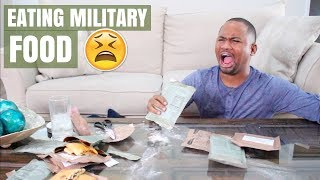 Download Trying US Military Food (MREs) For The First Time   Alonzo Lerone Video
