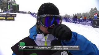Download Winter Dew Tour - Torstein Horgmo Takes 1st Place in Snowboard Slopestyle at Breckenridge Video