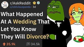 Download Wedding Incidents That Were Signs Of A Divorce (r/AskReddit) Video