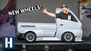 Download Rotary Powered Pit Truck Gets FRESH Work Wheels + Drift Car Fuel Setup! Video