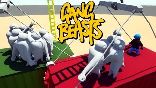 Download Gang Beasts - IT HURTS SOO BAD!!! [Developer Mode] Video