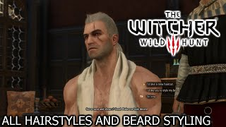 Download The Witcher 3: Wild Hunt - All hairstyles and beard styling (Basic + DLC) [PS4] Video
