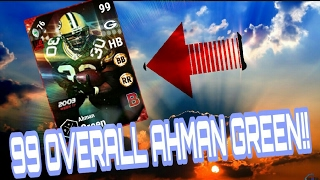 Download 99 LIMITED AHMAN GREEN GAMEPLAY!! ULTIMATE RAGE!! MADDEN 17 ULTIMATE TEAM Video