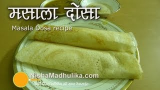 Download Masala Dosa Recipe Video - How To Make Masala Dosa Video