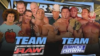 Download A look back at history's greatest 5-on-5 Traditional Survivor Series Elimination Matches Video