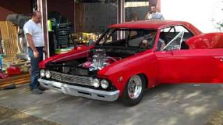 Download 800hp 66' Chevelle Dragster Startup Video