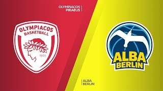 Download Olympiacos Piraeus - ALBA Berlin Highlights | Turkish Airlines EuroLeague, RS Round 19 Video