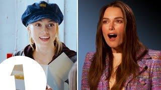 Download ″I had a MASSIVE spot!″ Keira Knightley on *that* hat from Love Actually. Video