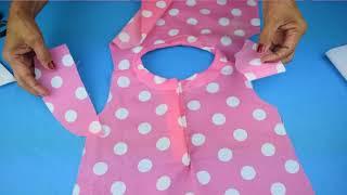 717f10684 DIY Cómo hacer vestido para niñas (patrones gratis incluidos) Free ...