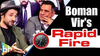 Download Boman Irani | Vir Das's HILARIOUS Rapid Fire On SRK | Hrithik | Akshay Kumar | Rajkumar Hirani Video