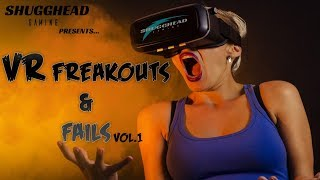 Download VR Freakouts and Fails: Best of the best for VR REACTIONS AND LAUGHS Video