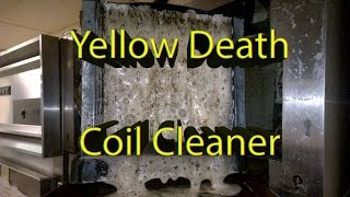 Download Foaming ″Yellow Death″ Coil Cleaner in Action! Video