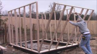 Download How to build a Greenhouse! DIY~ Framing Video