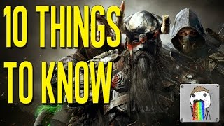 Download 10 Things About Elder Scrolls Online: Tamriel Unlimited Video