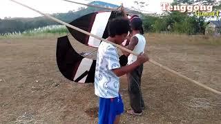 Download Layangan Bapangan Buto 5 Meter Sendarene dari Tali Peti (kas Mblitar Selatan Daerah Gunung) Video
