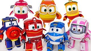 Download Robot Train S2 transform train robots Kay, Alf, Victor! Save the Titipo and Thomas! #DuDuPopTOY Video
