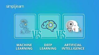 Download Machine Learning vs Deep Learning vs Artificial Intelligence   ML vs DL vs AI   Simplilearn Video
