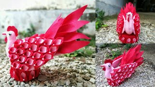 Download 62) Ide Kreatif - Cara membuat tempat permen dari Flanel    candy ayam    candy merak    candy angsa Video