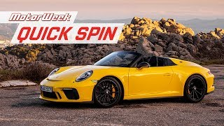 Download 2019 Porsche 911 Speedster | MotorWeek Quick Spin Video