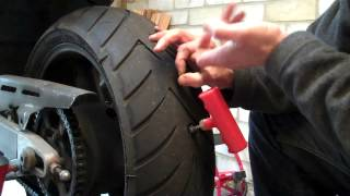 Download Delboy's Garage, Emergency Puncture Repair, Motorcycle Tyre. Video