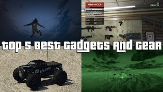 Download GTA Online Top 5 Best Gadgets And Gear Video