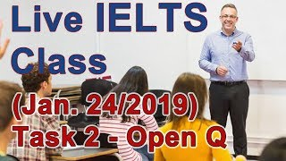 Download IELTS Live Class - Task 2 - Band 8 Level Example Video