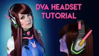 Download D.Va Cosplay Headset Tutorial - EVA Foam Video