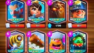 Download ALL 8 LEGENDARY Card Deck! Clash Royale Video
