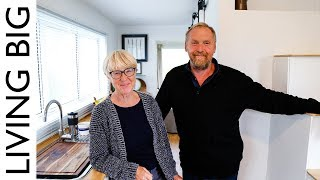 Download Couple Build Tiny House To Live Big In Retirement - Revisited Video