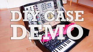 Download Portable Modular Synth DIY Case (incl. Eurorack & MicroBrute) #TTNM Video