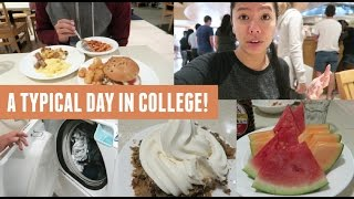 Download A Typical Day In College! (Dorm Food, Laundry, Friends & Work) Video