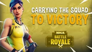 Download Carrying The Squad To Victory! - Fortnite Battle Royale Gameplay - Ninja Video