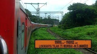Download 11011 Mumbai LTT - Nanded Express | LHB Rake - AC 3-Tier | Mumbai LTT to Pune Junction Video