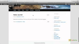 Download BuddyPress WordPress Plugin Installation Tutorial Video