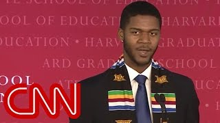 Download Harvard graduate's unique speech goes viral Video