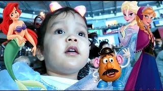 Download First Time at Disney on Ice! - November 13, 2016 - ItsJudysLife Vlogs Video