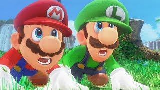Download Super Mario Odyssey - Complete Walkthrough (Luigi Gameplay) Video