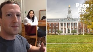 Download Mark Zuckerberg visits the Harvard dorm room where he started Facebook | Page Six Video