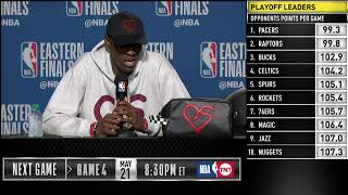 Download Pascal Siakam Press Conference | Eastern Conference Finals Game 3 Video