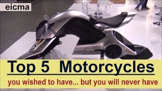 Download The Top 5 Motorcycles you wished to have Video