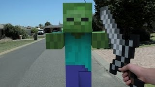 Download Minecraft In Real Life | First Person Video