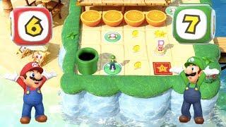 Download Super Mario Party - Watermelon Walkabout (Mario/Luigi vs Daisy/Peach) | MarioGamers Video