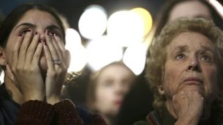 Download Hillary Clinton's supporters openly weep Video