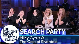 Download Search Party with Miley Cyrus and the Cast of Riverdale Video