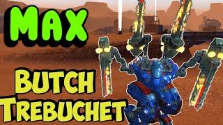 Download War Robots MAXED Mk2 Trebuchet Butch Gameplay Video